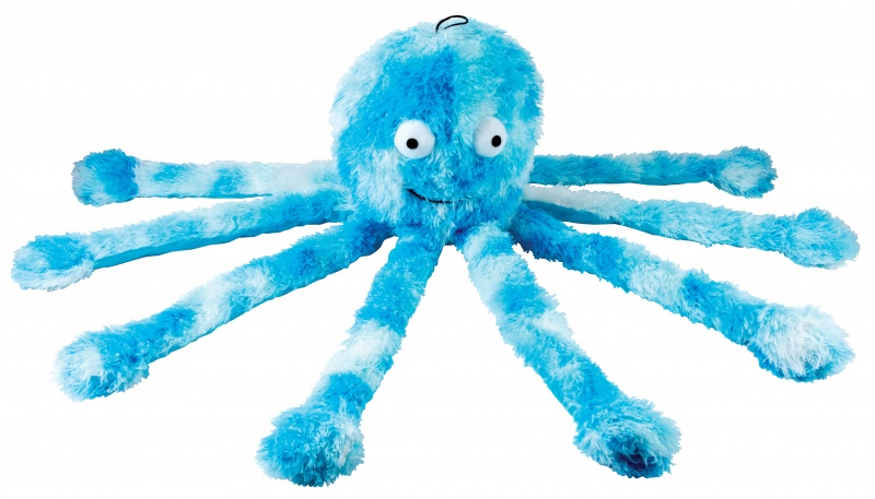 Dog Toys Plush Fluffy Dog Toy Baby Octopus